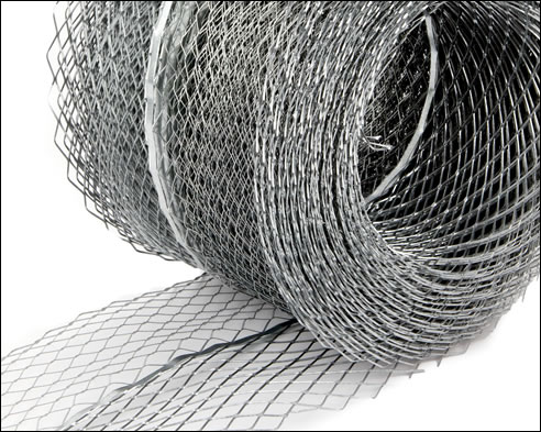 Galvanized Expanded Steel Mesh Coils for Plastering and Stucco Reinforcing