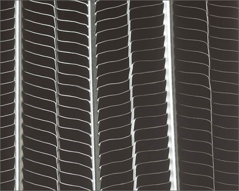 Expanded mesh rib lath, galvanized, for lime plaster