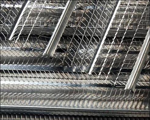 HDG rib lath, stay rib metal sheet, heavily galvanized